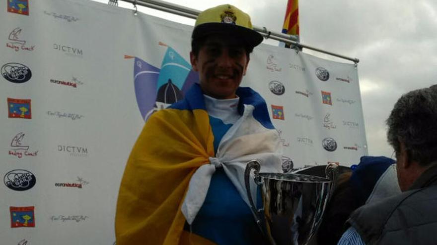 Samuel Beneyto, plata en la Copa de España de Optimist