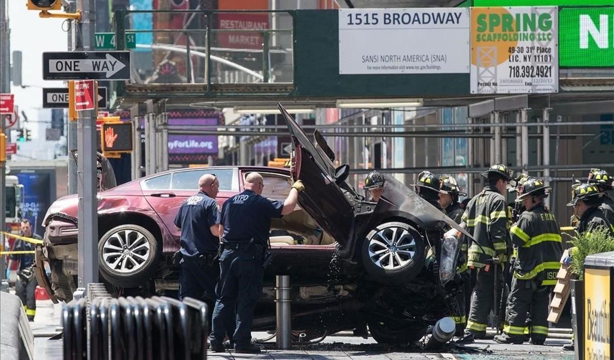 Fotogalería / Accidente en Times Square