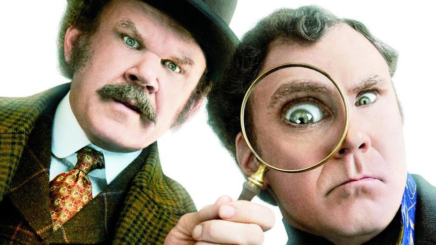 La vis cómica del detective más famoso