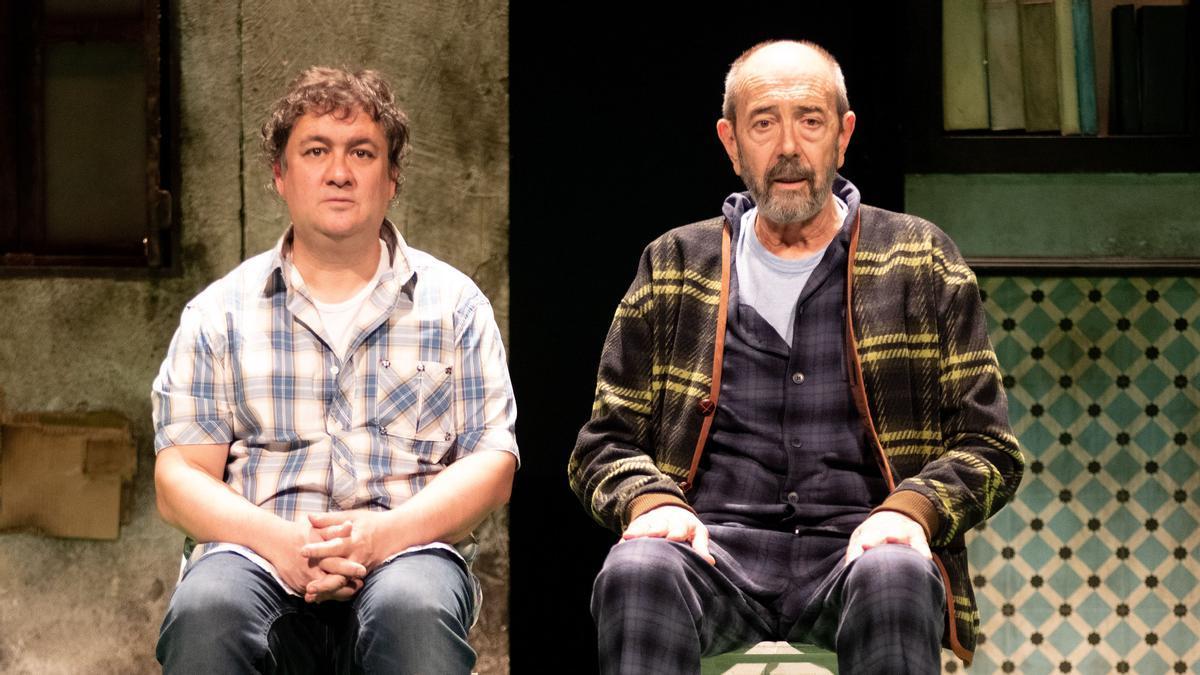 Secun de la Rosa i Miguel Rellán protagonitzen l'adaptació teatral de la novel·la de Santiago Lorenzo.