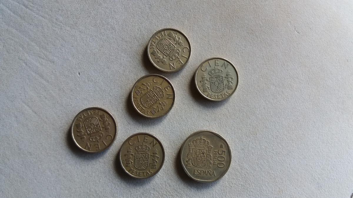 Al cierre de abril, los ciudadanos aún conservaban pesetas por valor de 1.586 millones de euros.