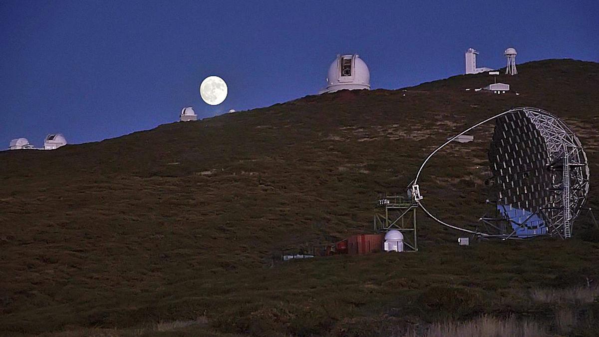 Telescopios de La Palma.