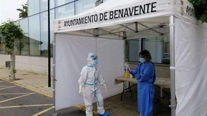 El Ayuntamiento de Benavente pide a la Junta un cribado masivo para frenar el contagio por la COVID