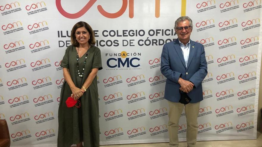 Salud y el Colegio de Médicos de Córdoba coinciden en reforzar la atención primaria frente a la pandemia