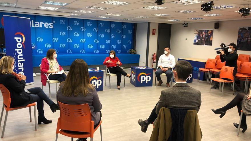 El PP critica el recorte del 50% en fondos para la violencia de género en Alicante