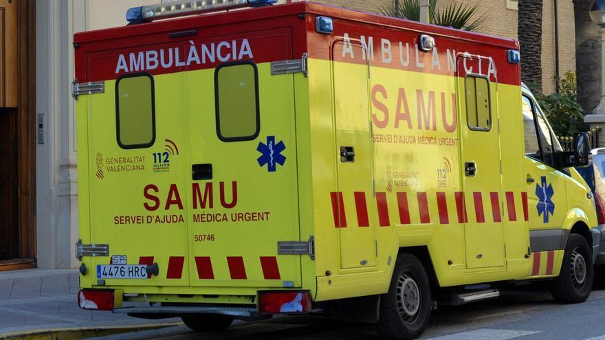 Herido un trabajador de Elda al caer desde ocho metros en un edificio de Aspe