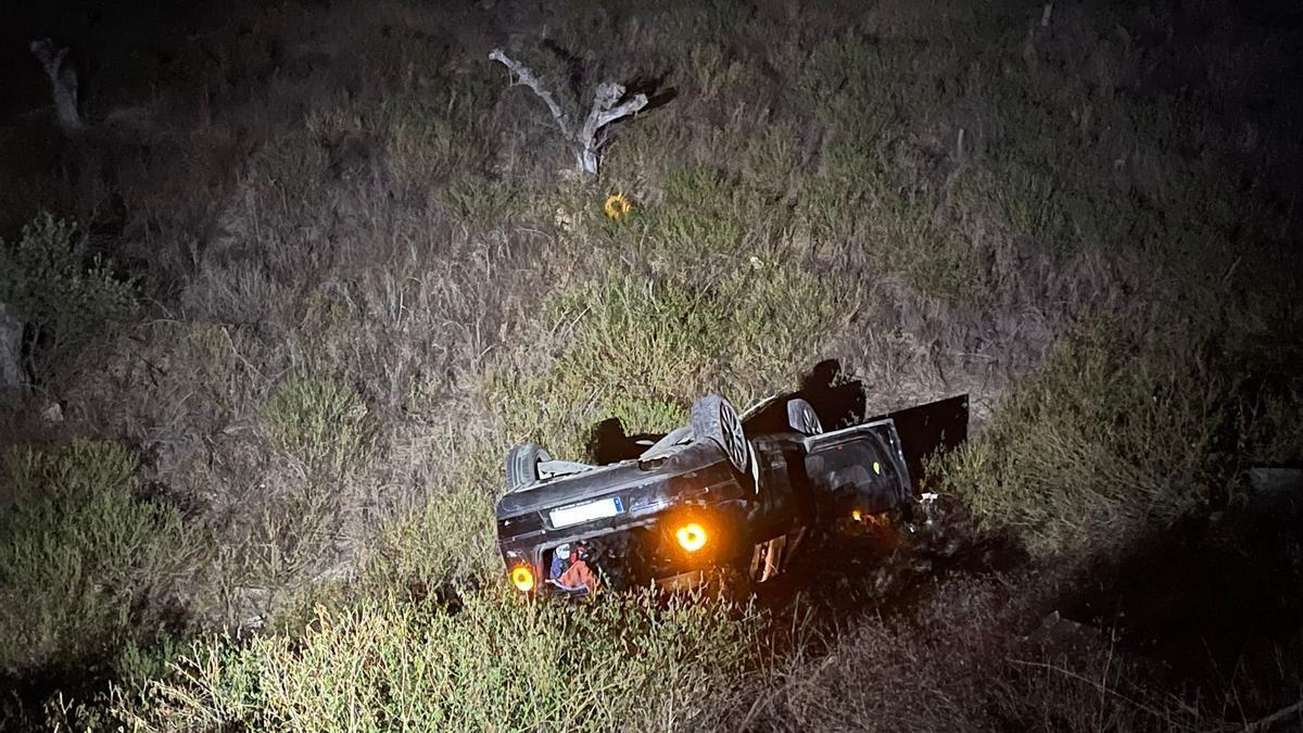 Imagen del accidente en Torre Pacheco.