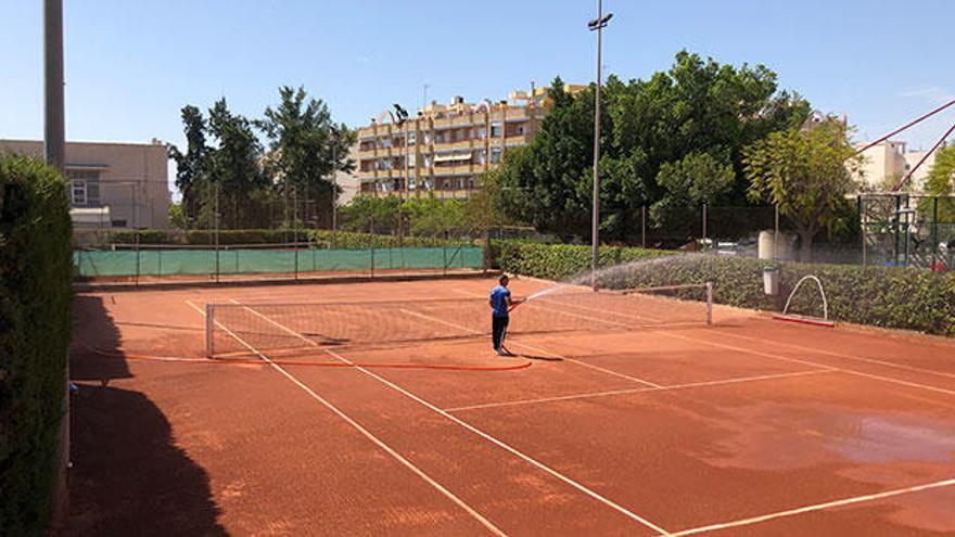 Se reabren las instalaciones de tenis y BMX en San Vicente del Raspeig