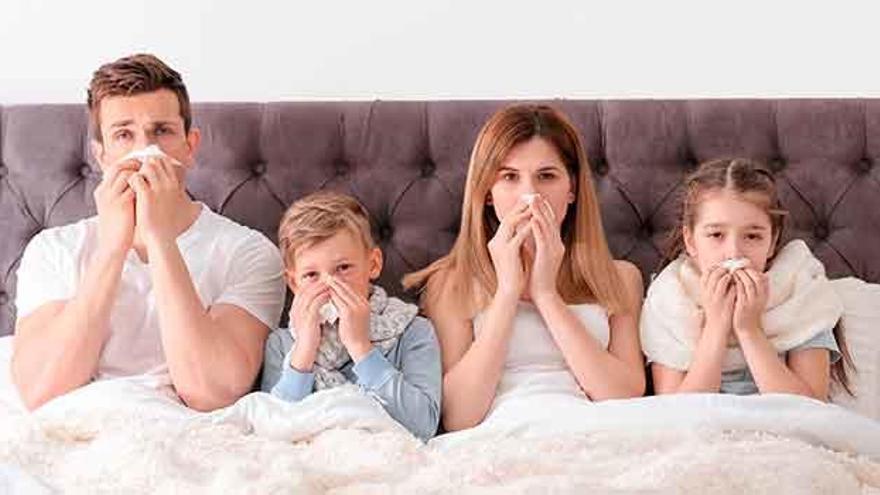 Ha llegado la gripe