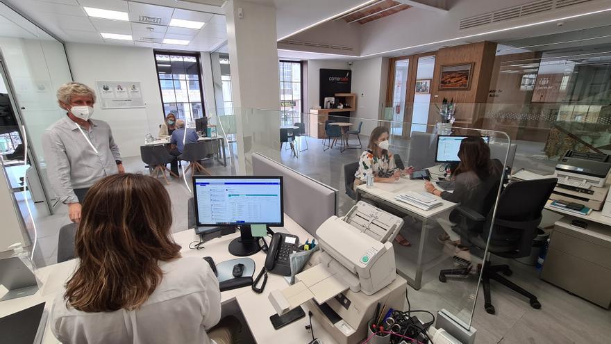 La financiación concedida por el Grupo Cajamar en 2020 generó en la C. Valenciana 1.729 millones de renta y 31.371 empleos