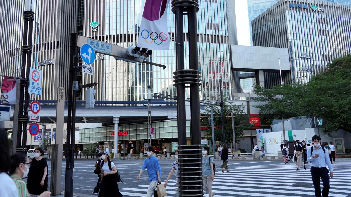 Notificat el primer positiu per covid a la vila olímpica de Tòquio