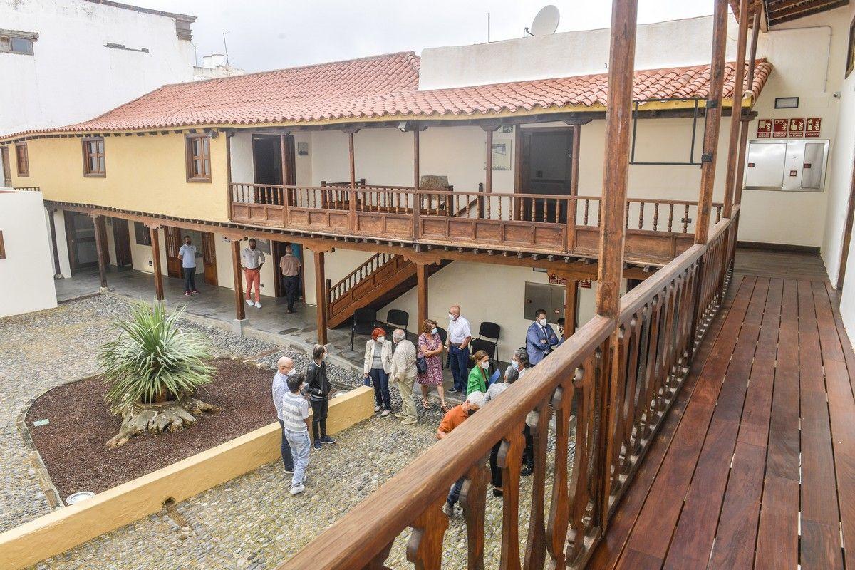 Gáldar inaugura un nuevo museo en la Casa del Capitán Quesada