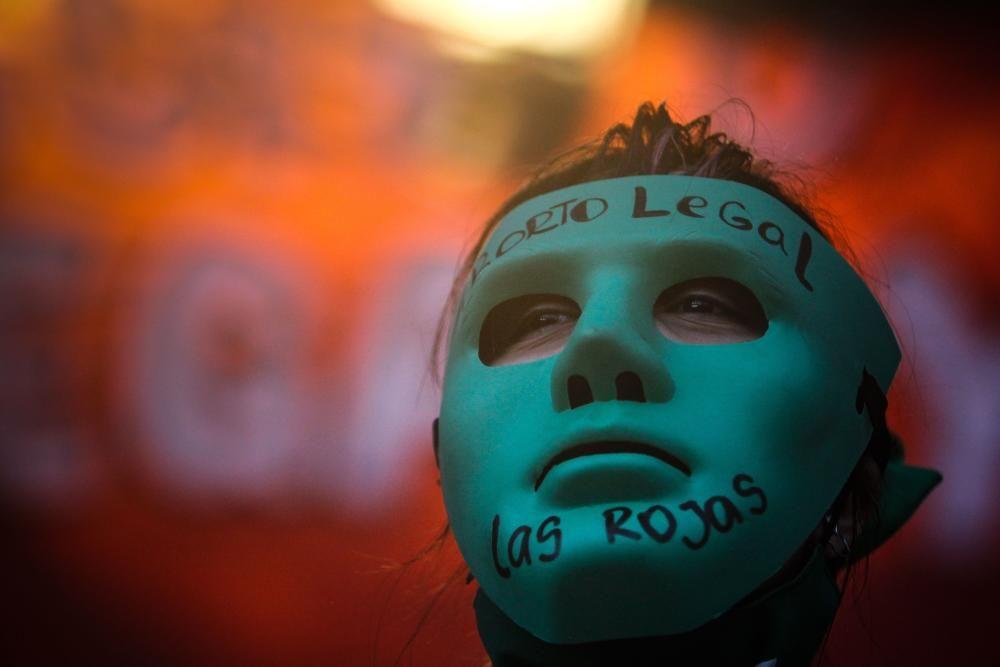 Los verdes toman las calles de Argentina por la legalización del aborto
