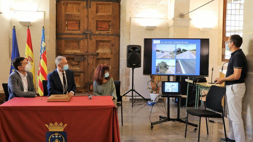 Las obras de mejora de la carretera entre Llíria y Alcublas comenzará este verano