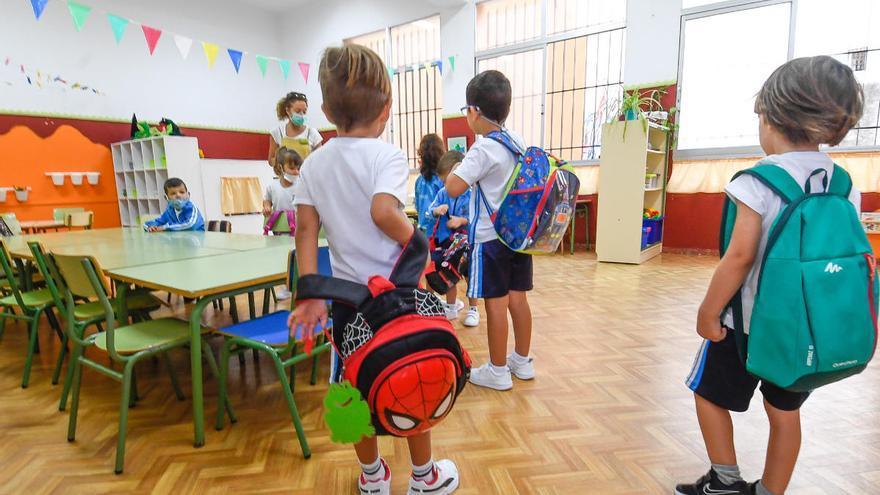 Más de una veintena de centros de Infantil y Primaria en Canarias aplaza el comienzo del curso