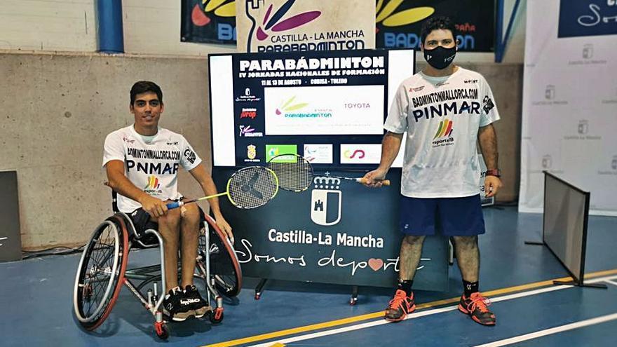 Frederick Medina y Rafael Abrines, terceros en Toledo