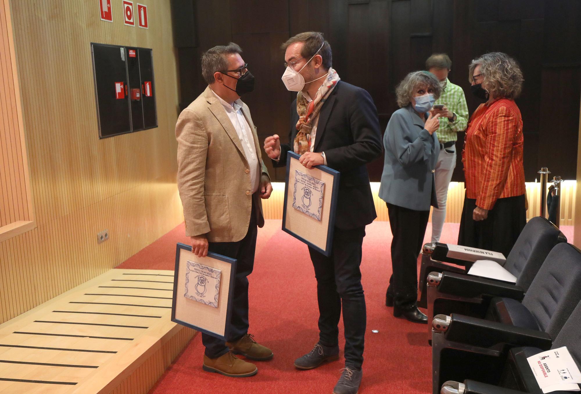 FOTOGALERÍA | EL PERIÓDICO galardonado en los Premios Búho