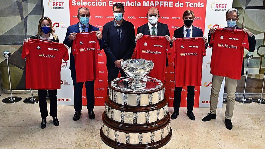 Rafa Nadal es la gran ausencia en la lista española para la Copa Davis