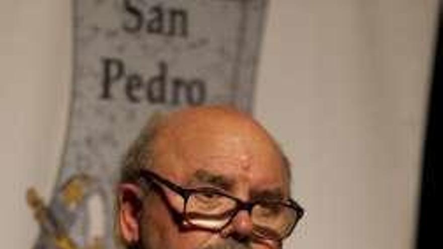 Luelmo expone desde hoy sus dibujos sobre personas de cine en La Felguera