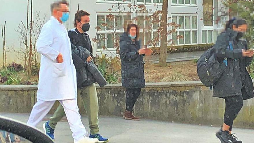 Fernando Alonso sale del hospital tras su operación de mandíbula
