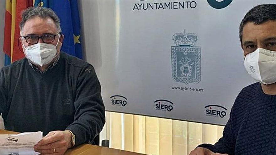 Siero pone en marcha el plan para la mejora del alumbrado público de la zona rural del municipio