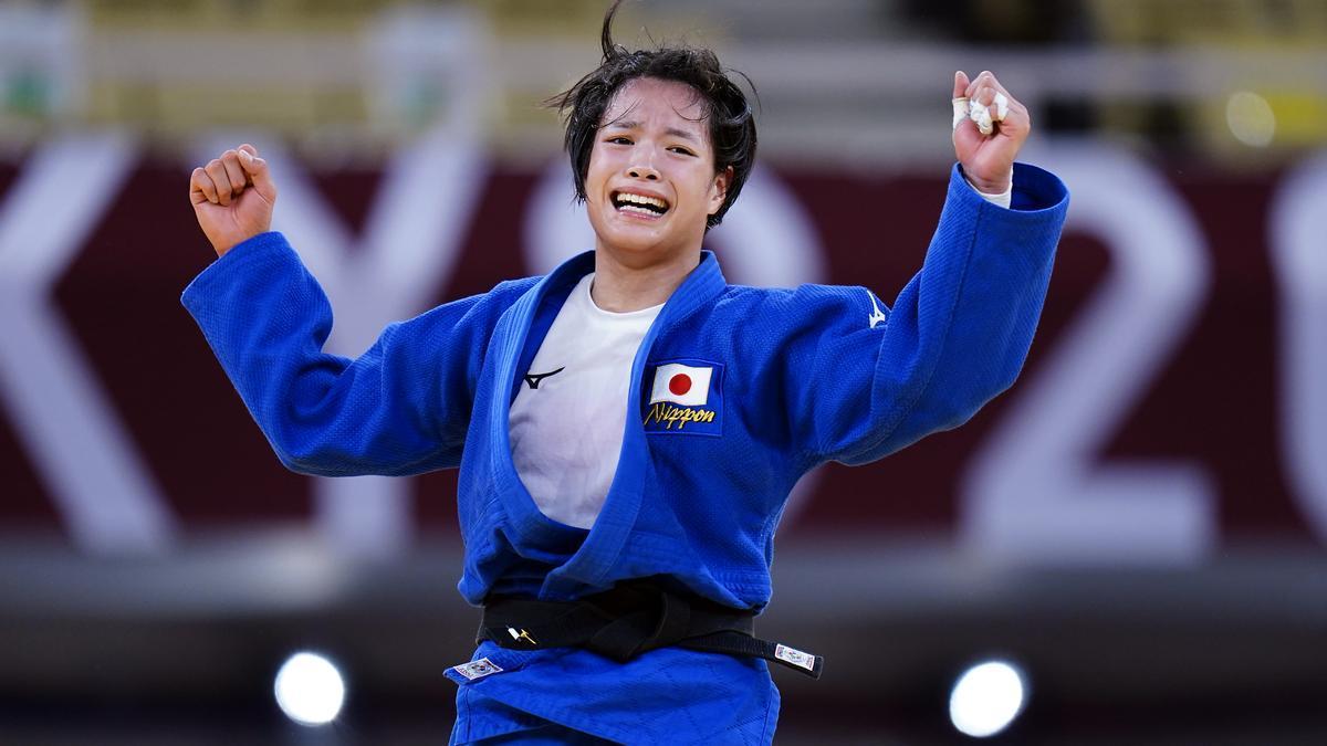 Uta Abe, campeona olímpica de judo -52 kilos.