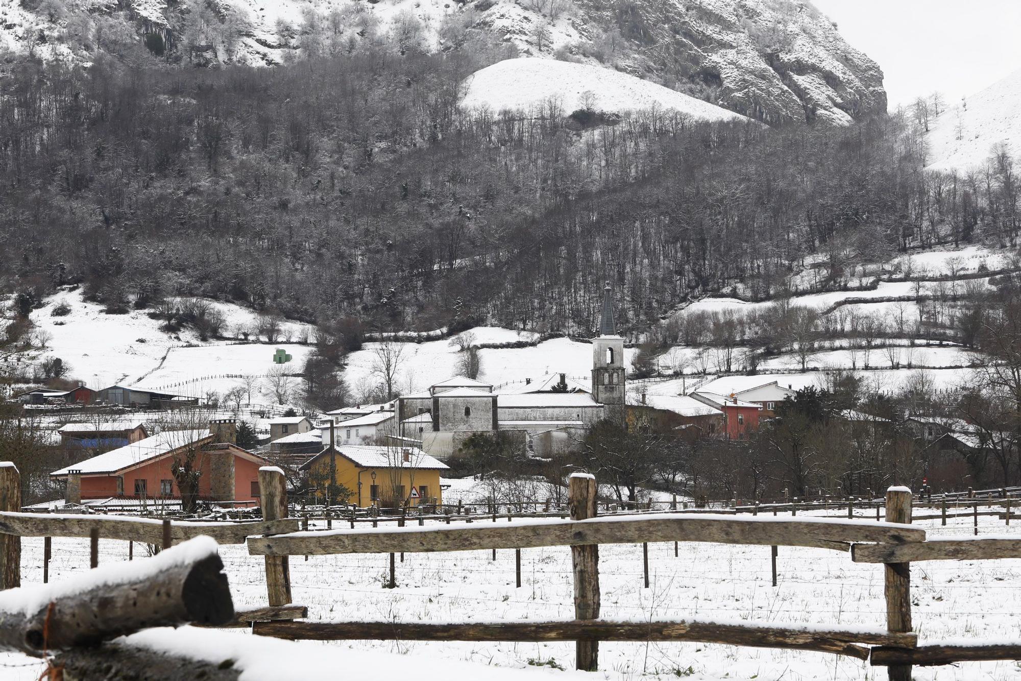Temporal de nieve en Caleao