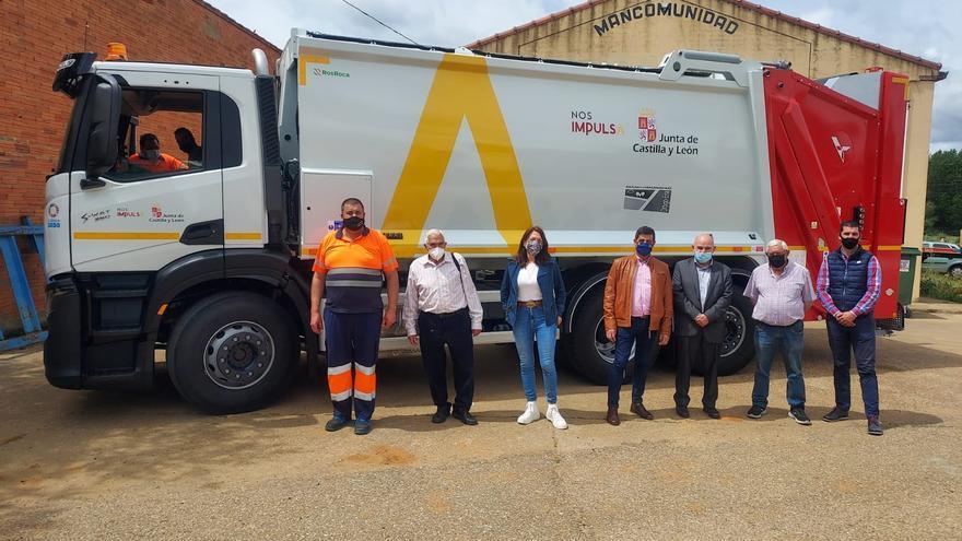 La Mancomunidad Órbigo-Eria estrena hoy un nuevo camión de basura