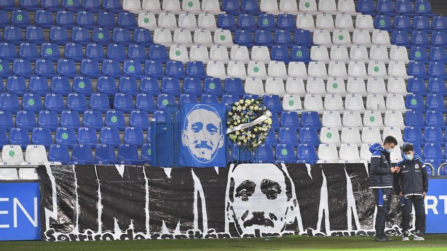 Antiviolencia propone una multa de 60.000 euros al Deportivo por el homenaje del domingo