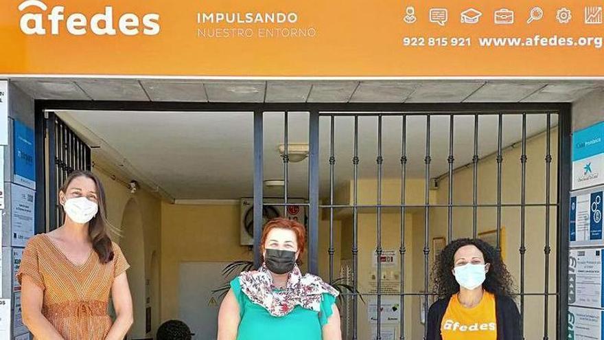 La Fundación Cepsa apoya a Afedes en su lucha por la inclusión social