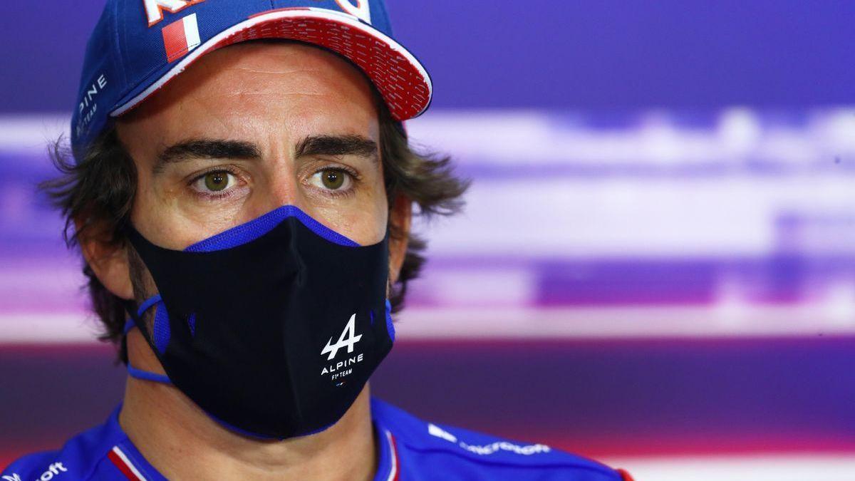 Fernando Alonso, sorprendido de que le pregunten por su edad en su retorno a la F-1