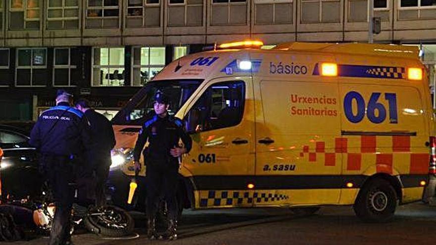 Las ambulancias, en alerta