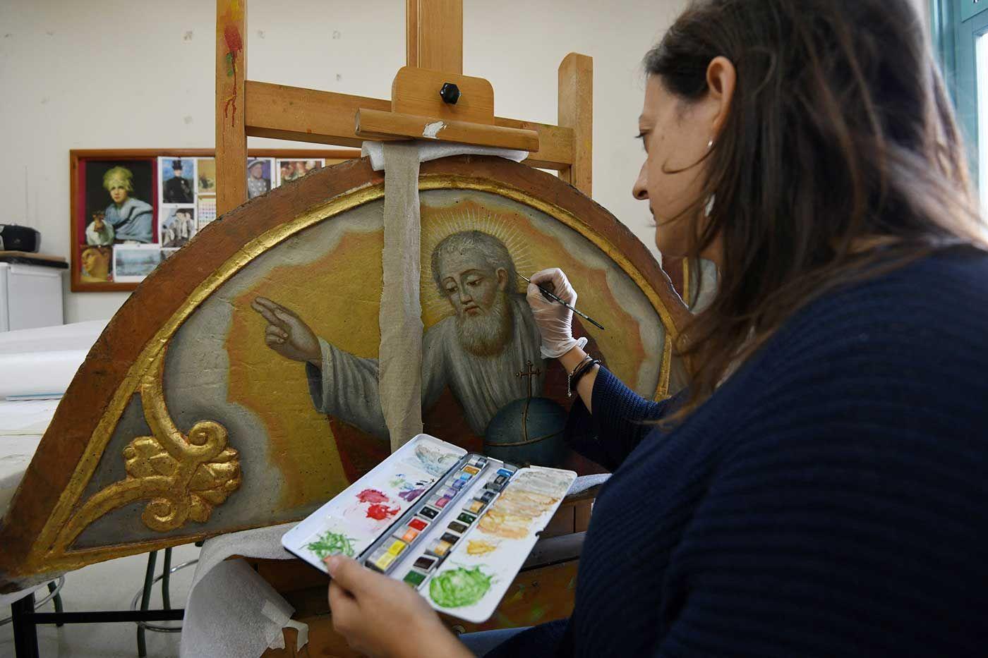 """Los restauradores se reivindican: """"No somos artistas frustrados"""""""