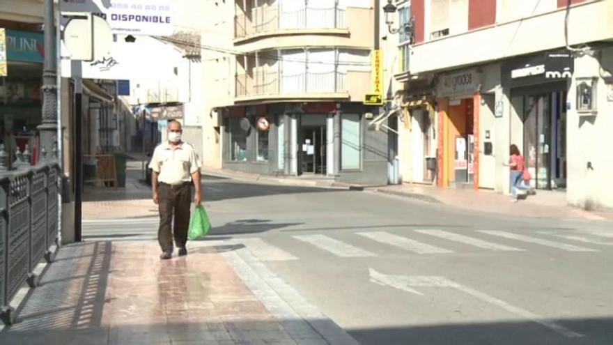 Totana vuelve a la fase 1 y se prohíbe entrar y salir del municipio
