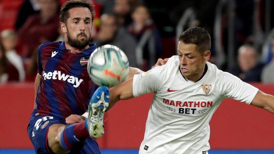 Sevilla-Levante y Logroñés-Valencia, en Copa del Rey