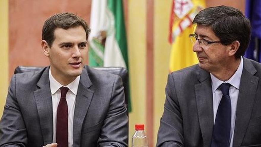Marín abre la puerta a que Ciudadanos concurra con el PP en Andalucía