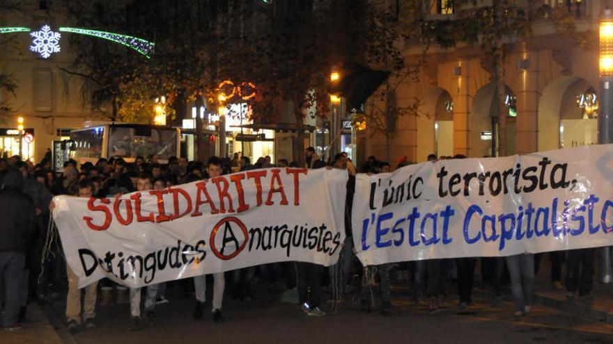 Arxiven la causa contra les dues anarquistes de Manresa acusades pels Mossos de terrorisme