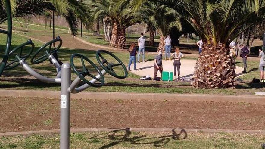 El parque de Hoya Machado. | | E.D.