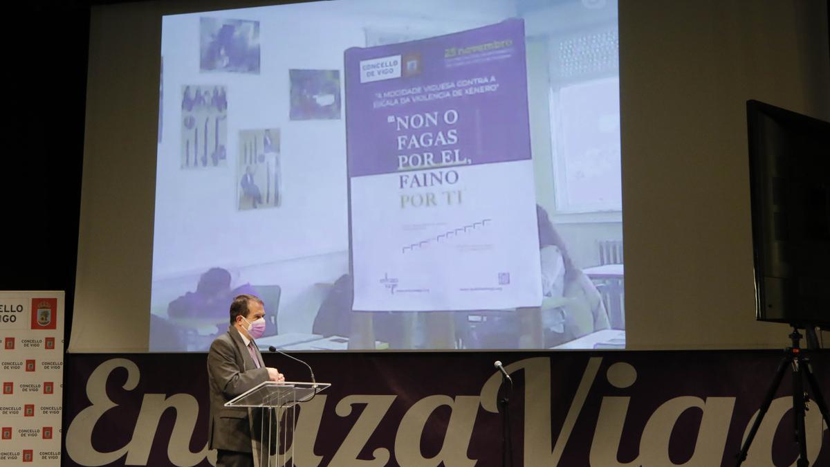 Abel Caballero en Enlaza Vigo 2020