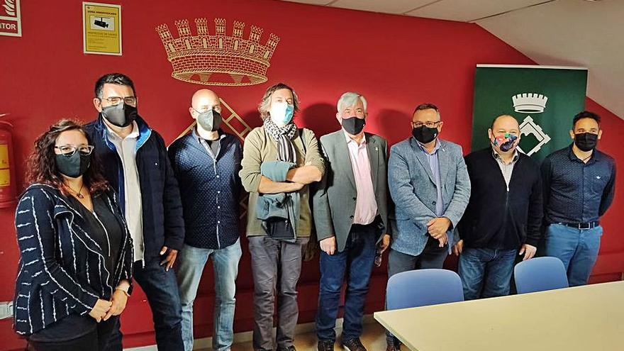 Viladecans s'interessa pel sistema del porta a porta del Berguedà