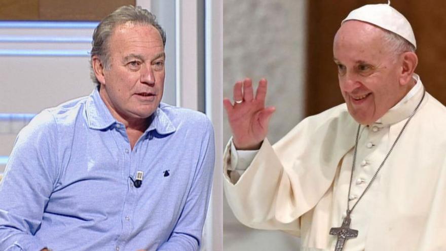"""Bertín Osborne carga contra el Papa Francisco desde Telemadrid: """"No lo puedo ni ver, es un bocazas"""""""