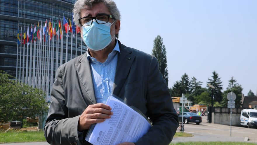 Turull presenta a Estrasburg el recurs contrala condemnade l'1-O