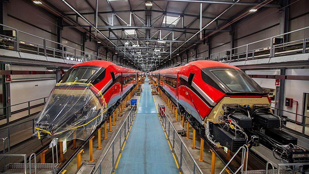Los nuevos trenes de ILSA viajarán a Italia para iniciar su proceso de homologación.   LEVANTE-EMV