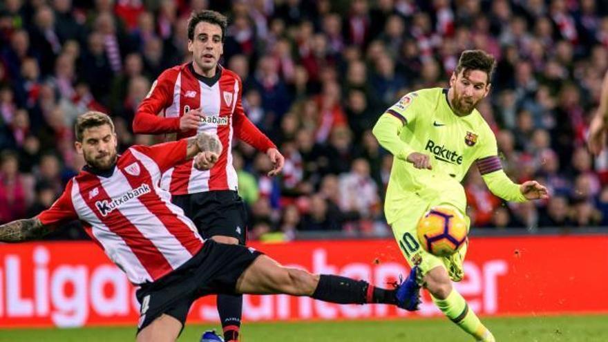 El Athletic frena al Barcelona y pone emoción a LaLiga