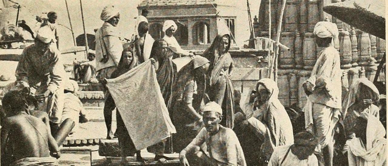 Kipling en la India (fotografía fechada en 1915). | INFORMACIÓN