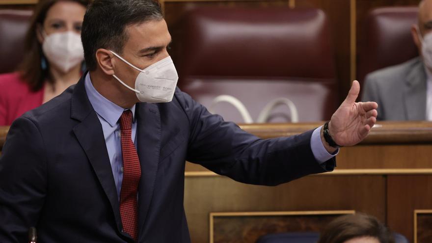 Pedro Sánchez li diu a la sallentina Mirella Cortès que facin una taula de diàleg entre independentistes per resoldre els seus problemes