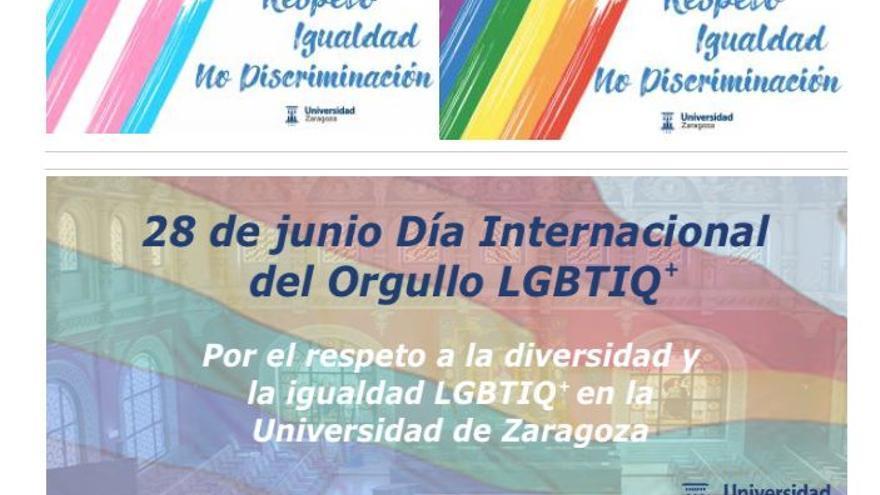 """La Universidad de Zaragoza presenta los Premios TFG y TFM """"Diversidad Afectivo Sexual"""""""