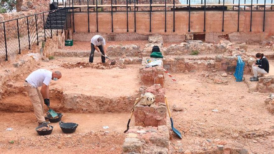 Onda excava en el castillo para reforzar su potencial turístico