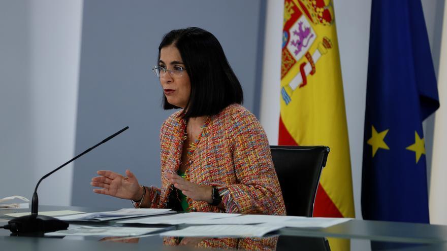 Carolina Darias comparece tras el Consejo Interterritorial de Salud