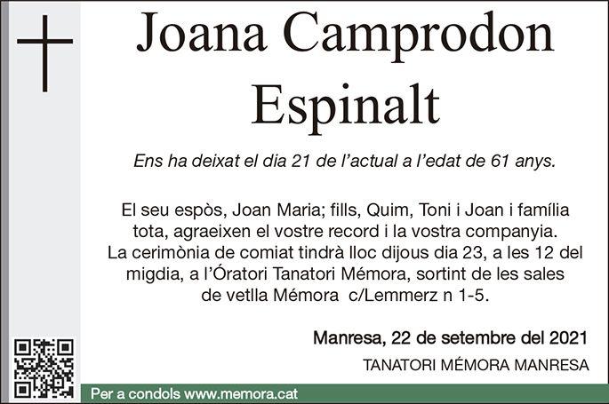 Joana Camprodon Espinalt